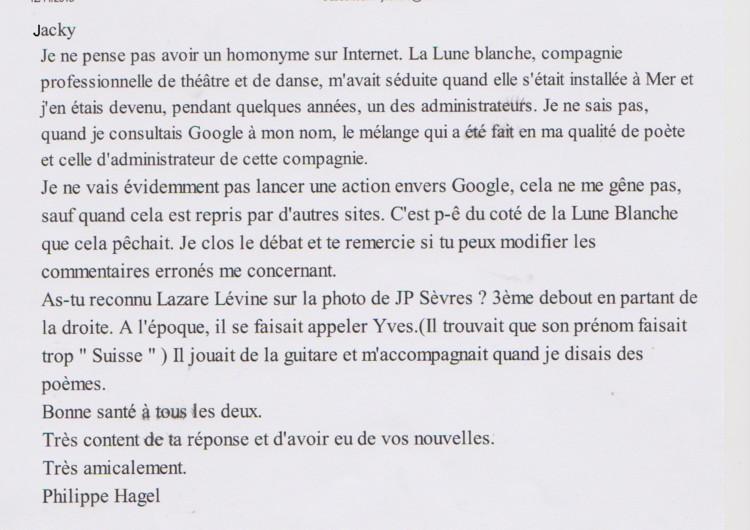 HAGEL Philippe email