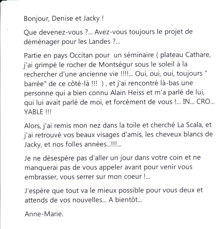 WEILER Anne Marie email
