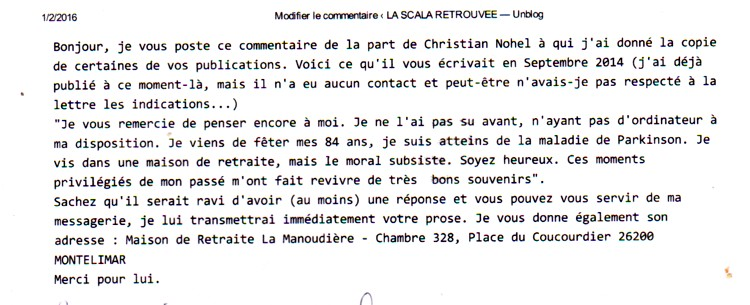 NOHEL Christian commentaire F