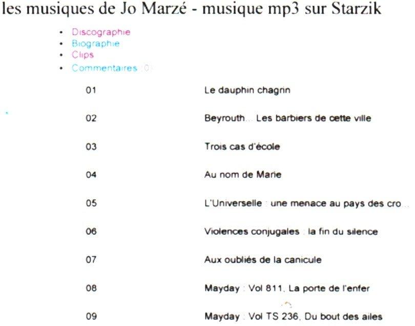 marze-jo-musiques dans MARZE Jo