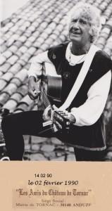 j²acky troubadour à Tornac