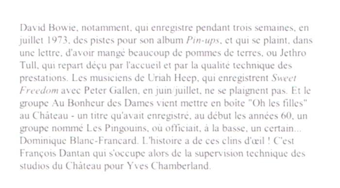DANTAN François texte