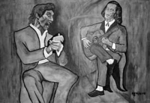 fortés flamenco joueurs