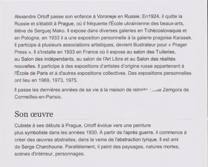 ORLOFF Sacha bio