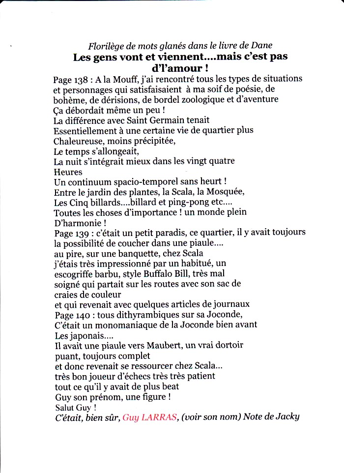 dane florilège page 1