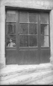 BAUDRY Janine L'entrée de la Scala au début
