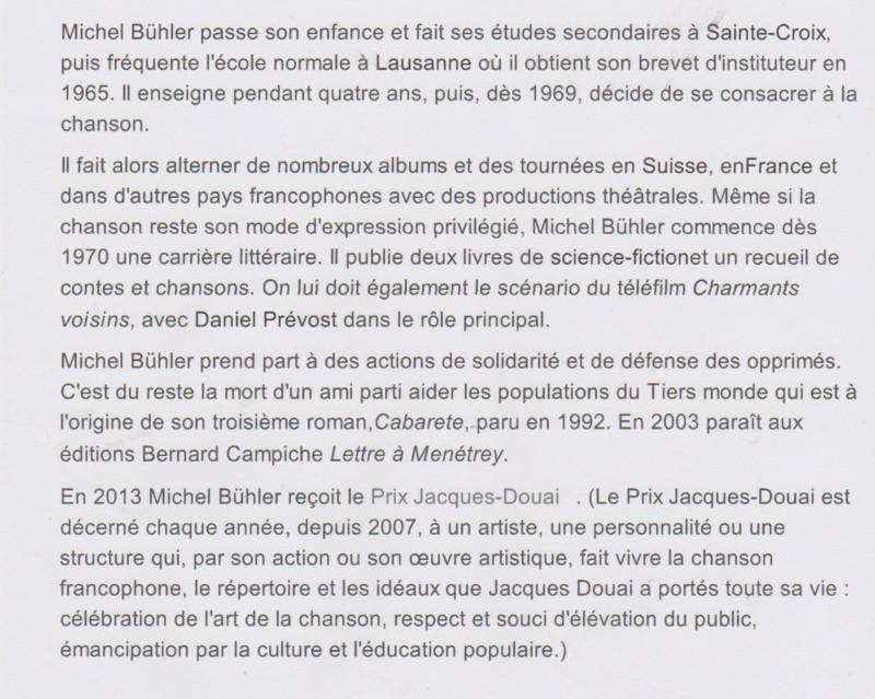 BUHLER Michel bio¨