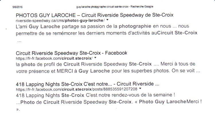 LAROCHE Guy photographe