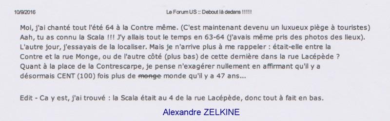 ZELKINE Alexandre