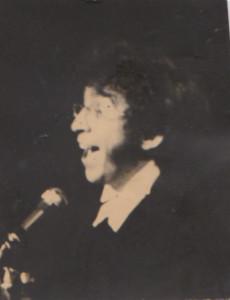 Chanteur anonyme