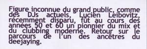 Leibovitz Lucien texte