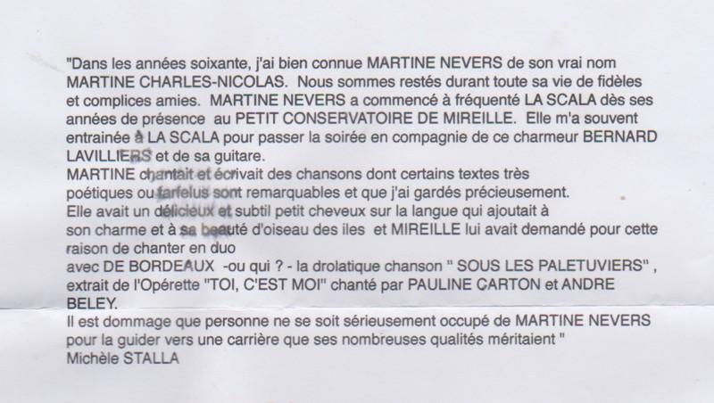 STALLA Michèle